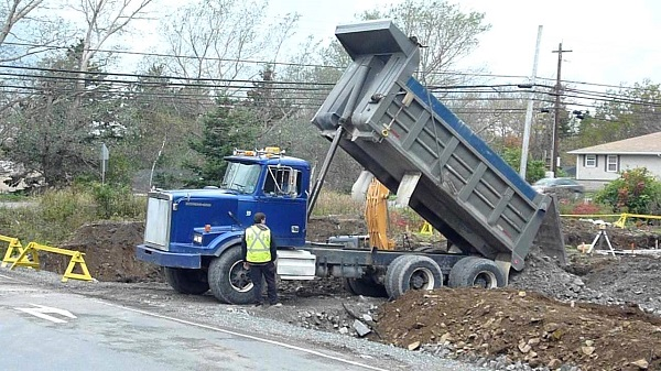 hayward end dump service