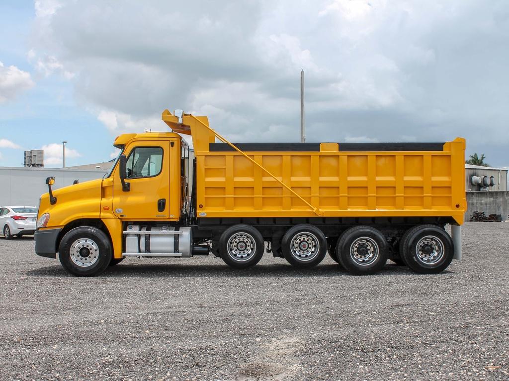 san francisco dump trucking