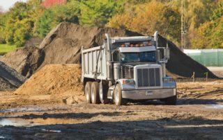 dump trucking services